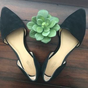 Michael Kors suede leather flats
